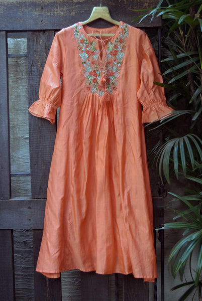 ROAM 200306 Chanderi Tunic