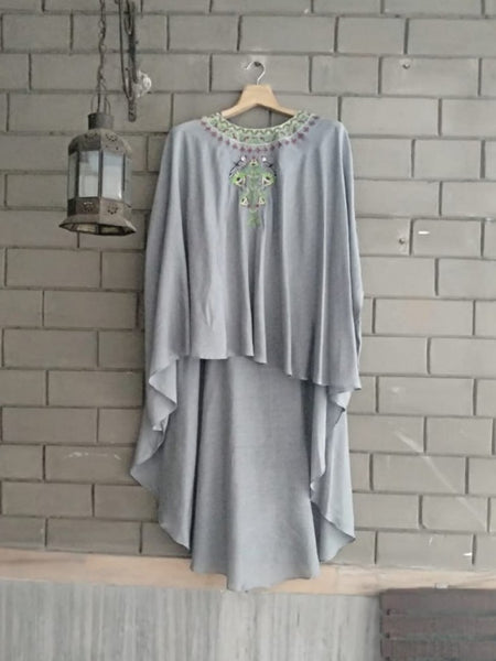 Georgette Dress Grey