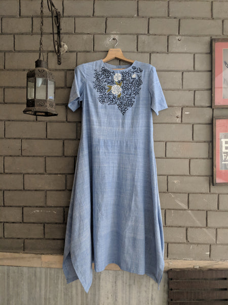 ROAM 190703 Handwoven dress