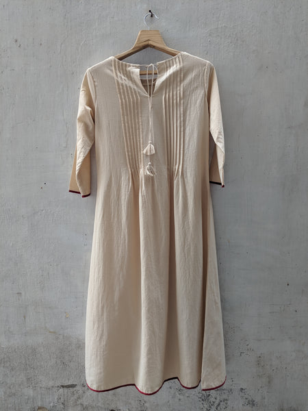 ROAM 192702 Pleated & Embroidered  Tunic