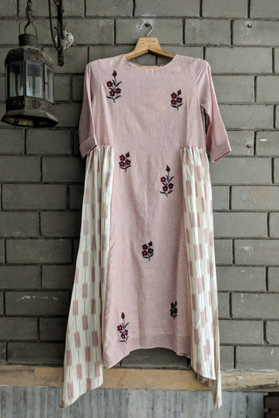 Serene Embroidered Dress