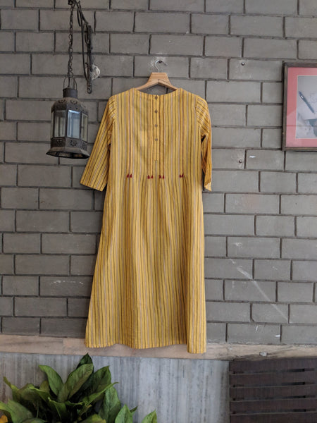 ROAM 185203H Striped Handloom Dress