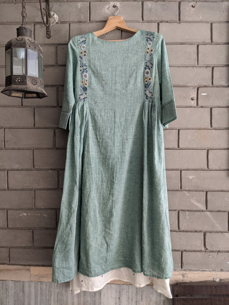ROAM 194803 Handwoven tunic dress