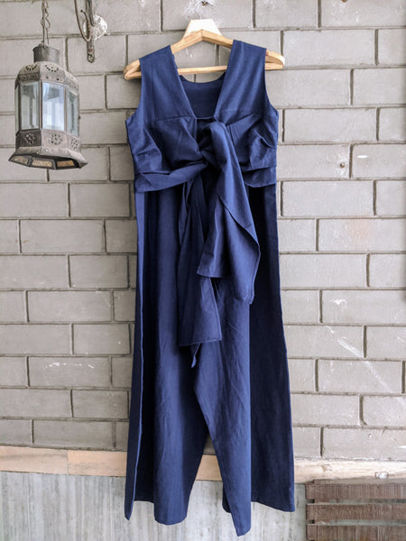 ROAM 194103  Jumpsuit with Tie-up detail
