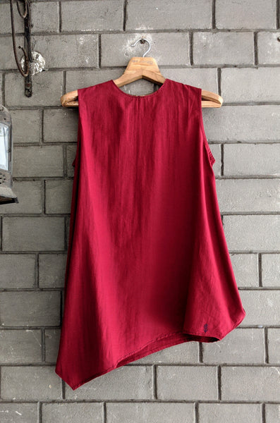 IndI02 Draped Side Cowl Top