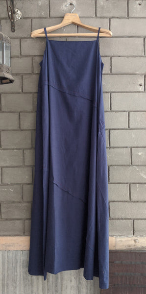 IndI05 Strappy Indigo Dress