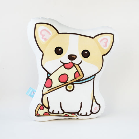 Pizza Welsh Corgi Pillow