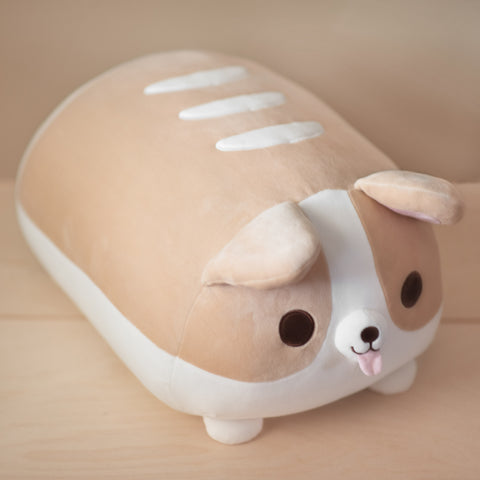 Corgi Bread Loaf Plushie - XL