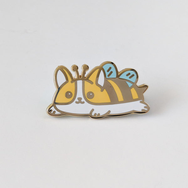 Bee Corgi Pin