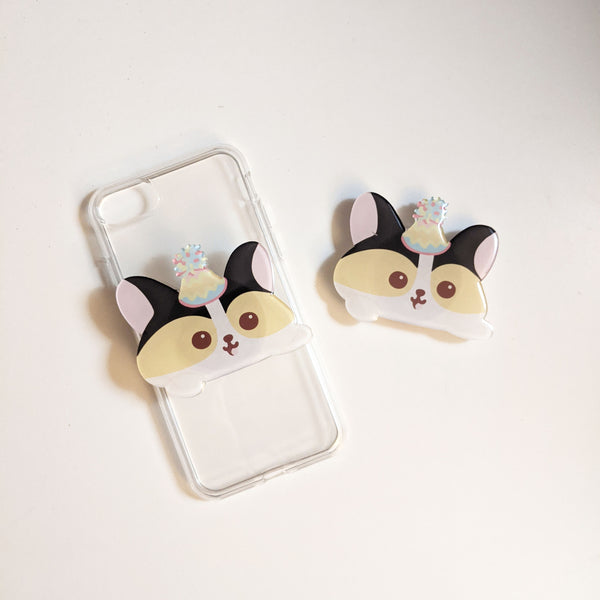 Corgi Phone Grip