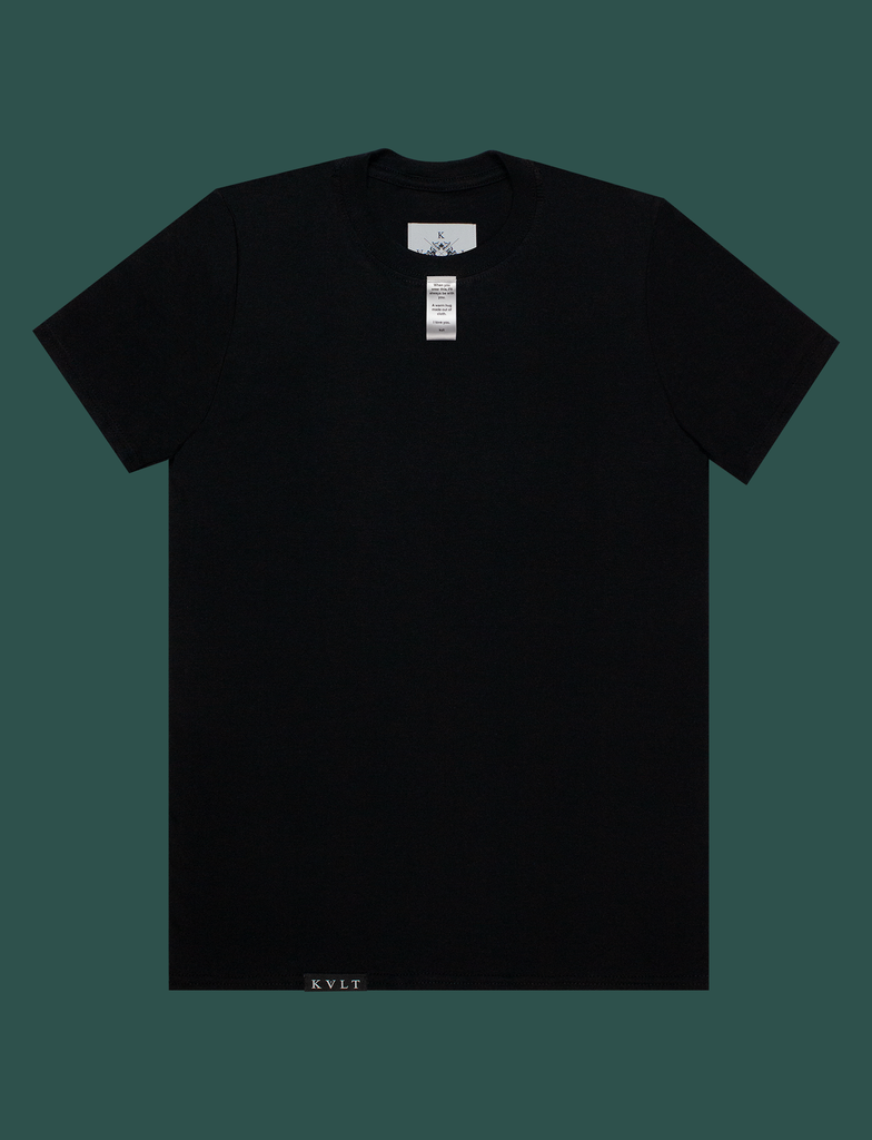 A WARM HUG Tee in Black by KULT Clothing | When you wear this, I'll always be with you. A warm hug made out of cloth. I love you. KULT