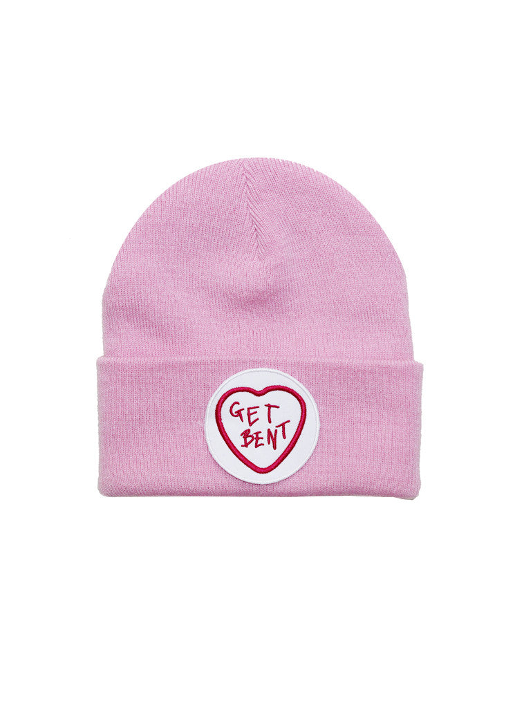 GET BENT Beanie in Pastel Pink by KULT