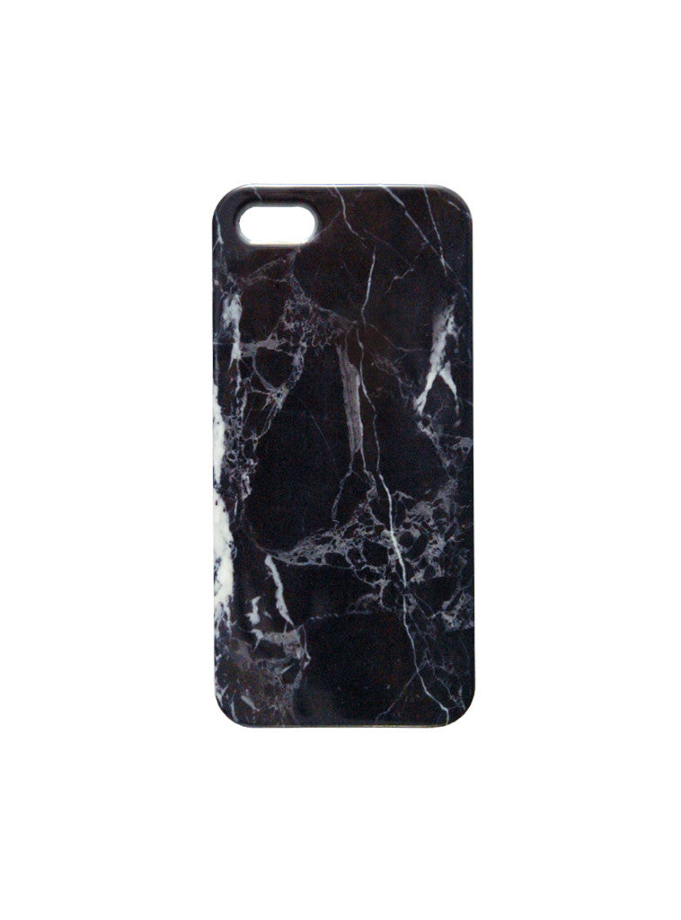 BLACK MARBLE Case in iPhone 5/5s by KULT