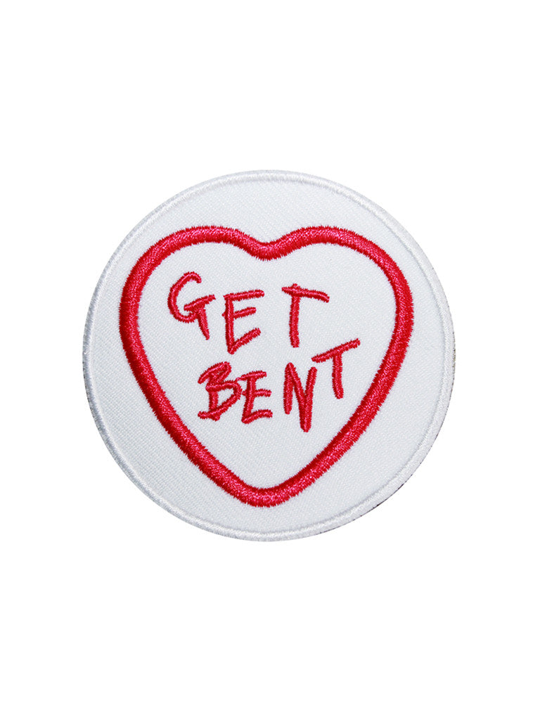 GET BENT Embroidered Patch by KULT