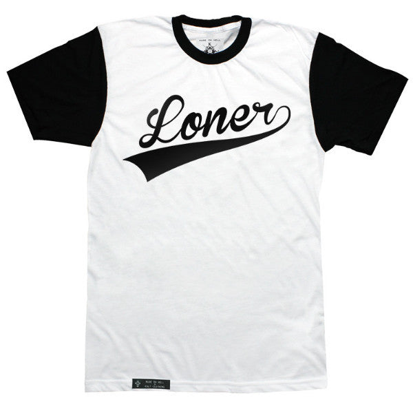 LONER Tee with contrast sleeves by KULT