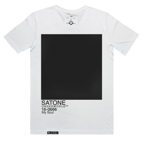 SATONE Tee in White by KULT