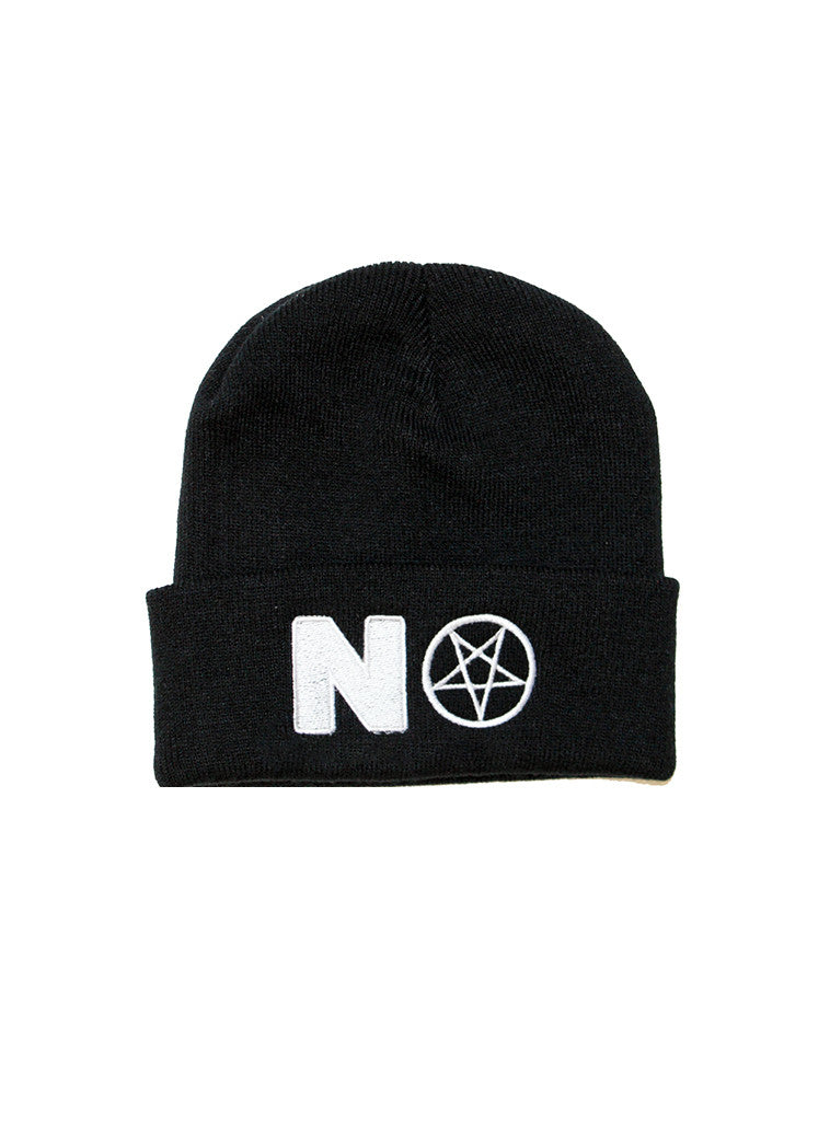 NO PENTA Beanie in Black by KULT
