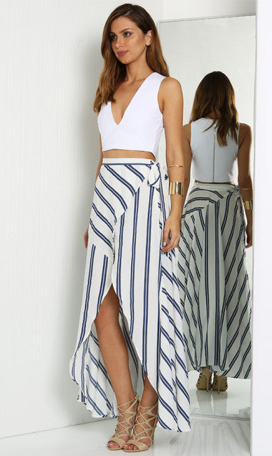 Cascade Maxi Skirt -  4 - One Fleur Womens Online Boutique