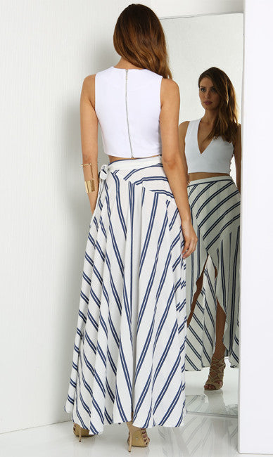 Cascade Maxi Skirt 03 - One Fleur Womens Online Boutique
