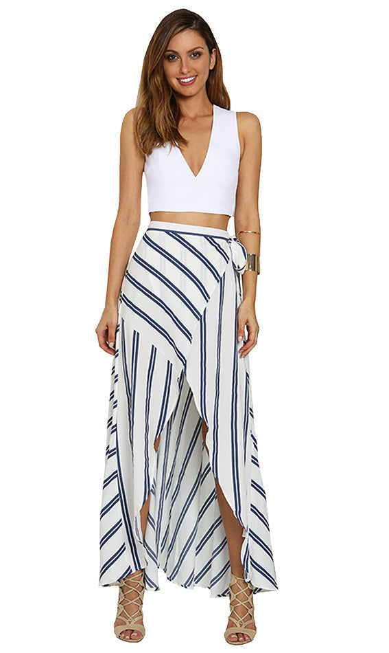 Cascade Maxi Skirt - One Fleur  02- One Fleur Womens Online Boutique