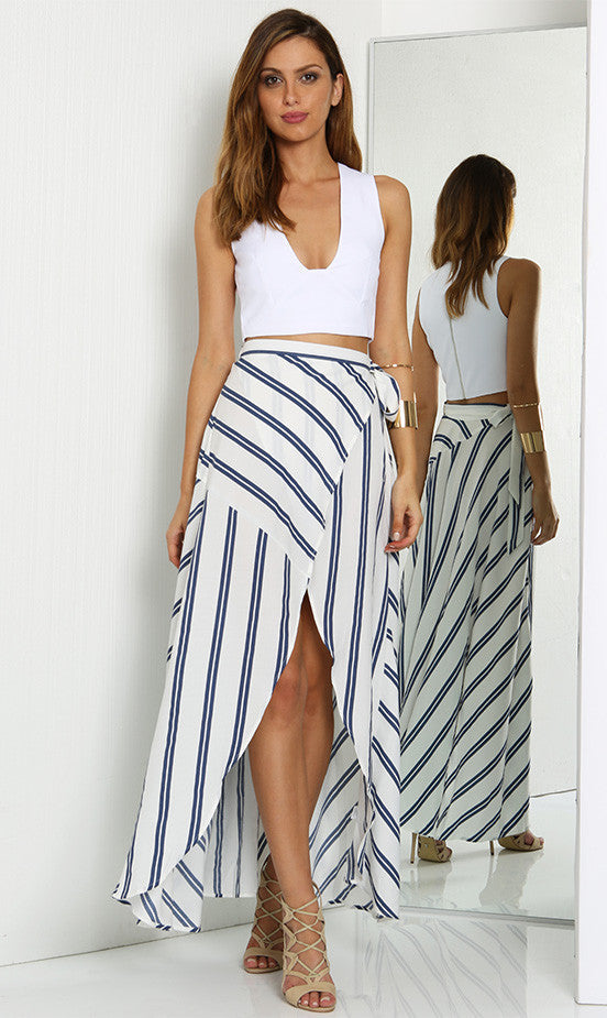 Cascade Maxi Skirt - One Fleur Womens Online Boutique