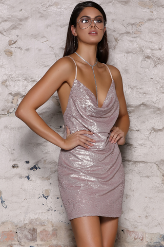 BIJOU SEQUIN  DRESS