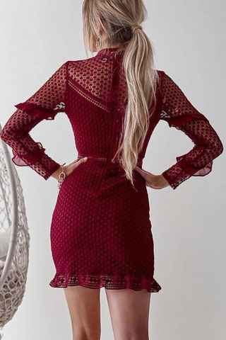 Isla Dress Red