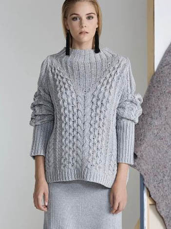 Ivy Sweater | Grey - One Fleur Womens Online Boutique