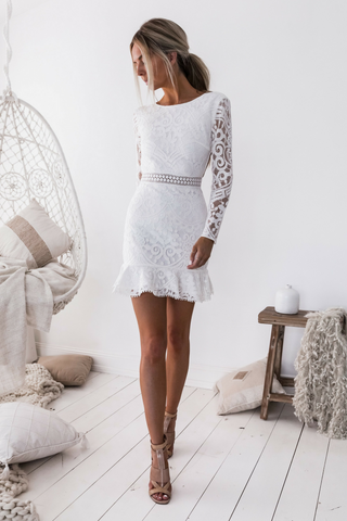 Madeline Dress - White