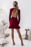 Madeline Dress - Red
