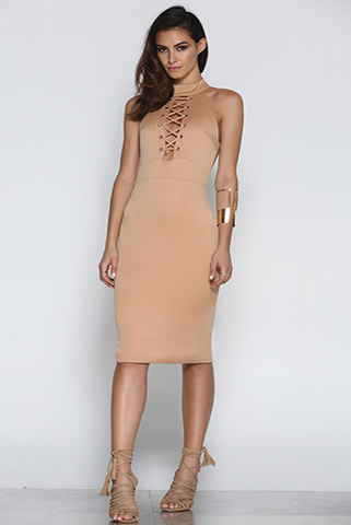 All Tied Up Dress - One Fleur Womens Online Boutique