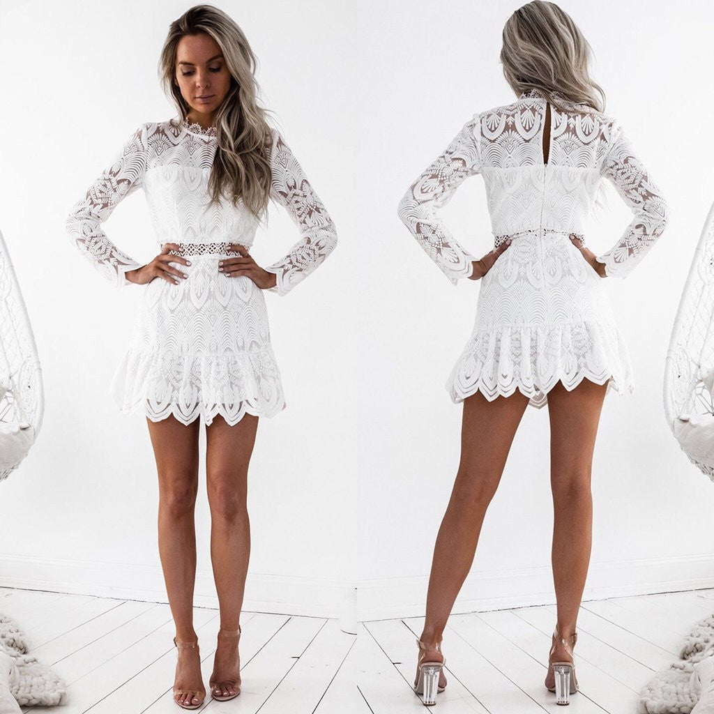 Pixie Dress | White