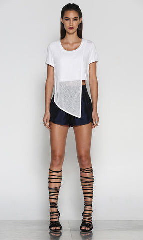 Web of Lies Top (White) - One Fleur Womens Online Boutique