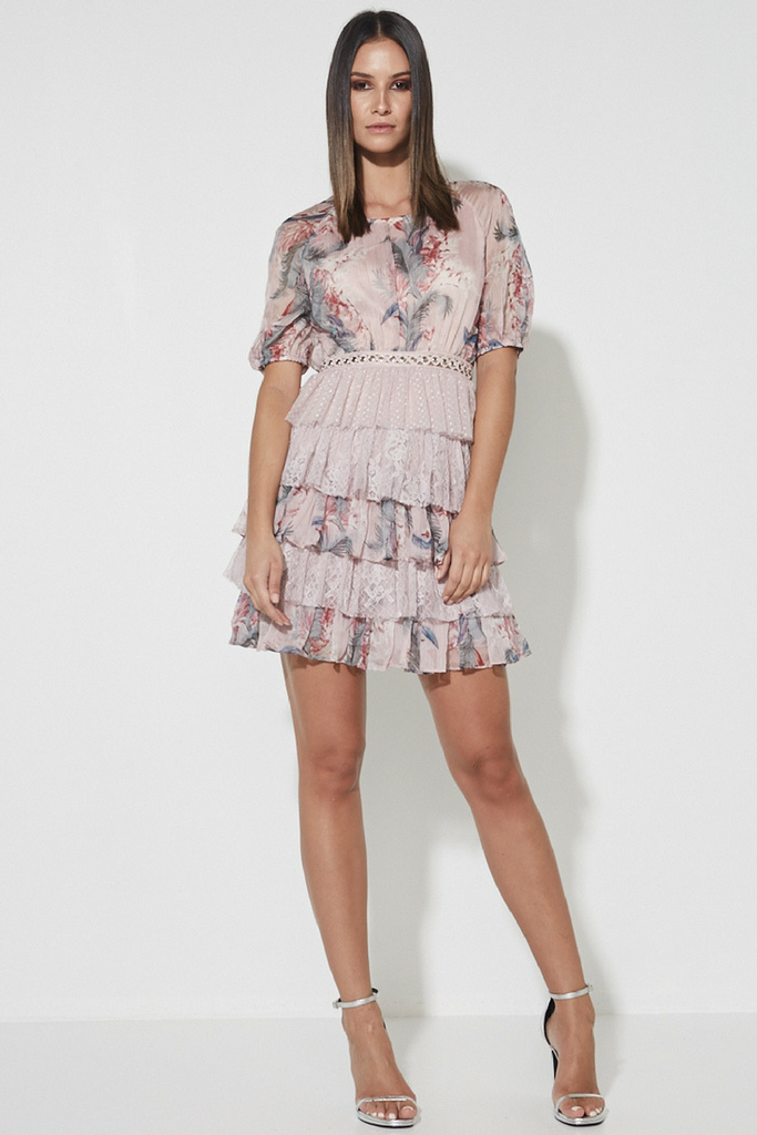 A Whisper of Fate Tiered Dress