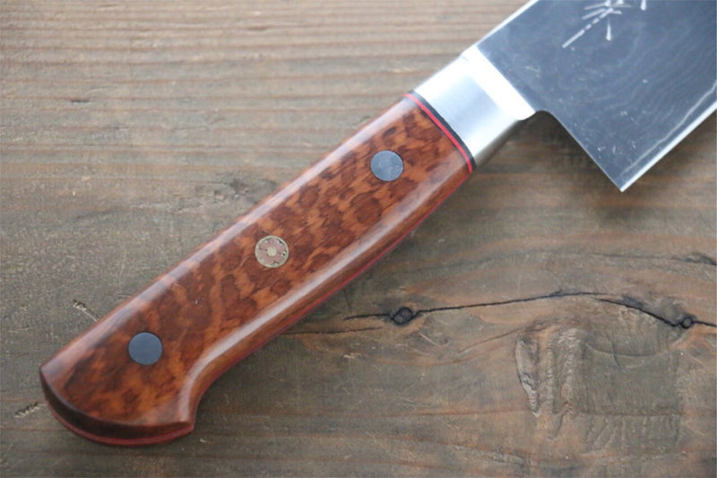 Very cool custom handles for Japanese Chef Knives