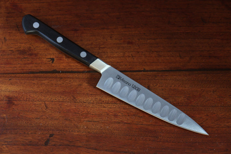 Misono UX10 Stainless Steel Petty-Utility Salmon Japanese Knife 150mm - Japanny - Best Japanese Knife
