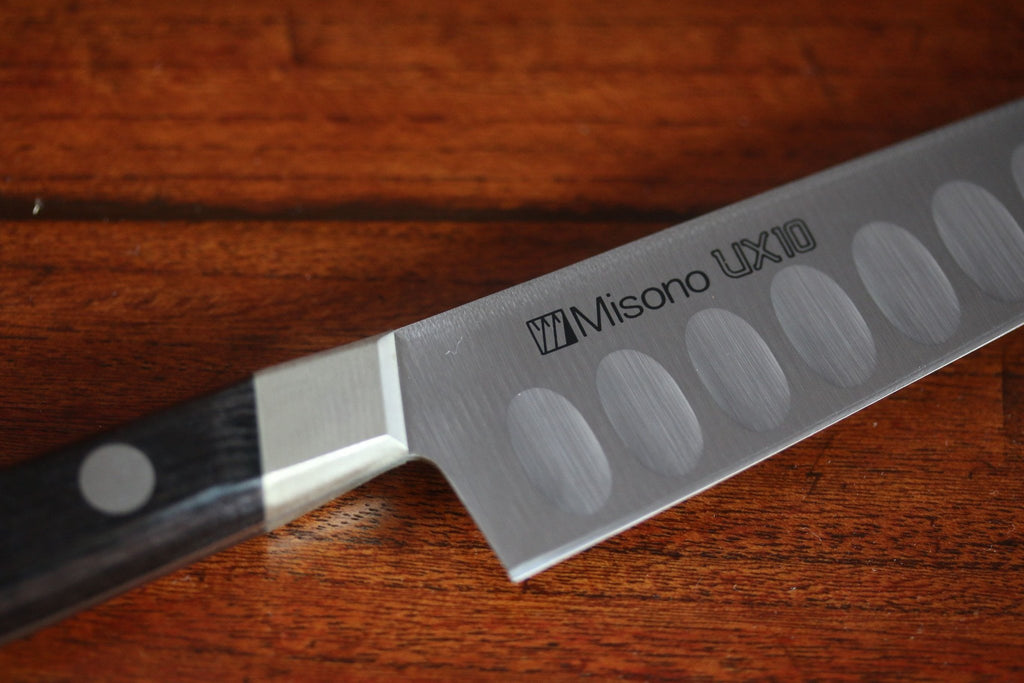 Misono UX10 Petty Salmon Type Knife Swedish Stain-Resistant Steel (Japanese Chef's Knife)-120mm