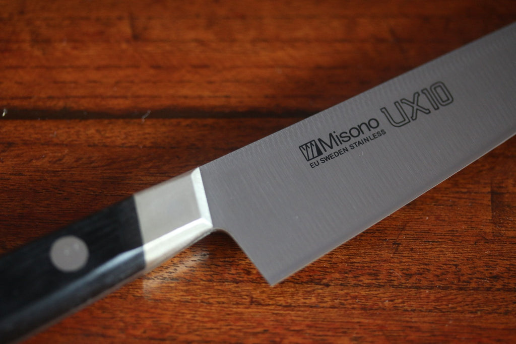 Misono UX10 Petty Swedish Stain-Resistant Steel Japanese Chef's Knife- Petty130mm