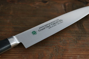 Sakai Takayuki Grand Chef Swedish Steel Petty Utility Japanese Knife-90mm
