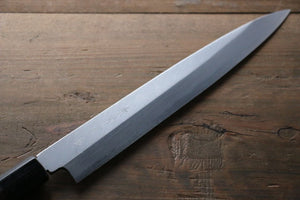 Kanetsune White Steel 11 Layer Damascus Japanese Sushi Sashimi Knife -270mm Shitan Handle