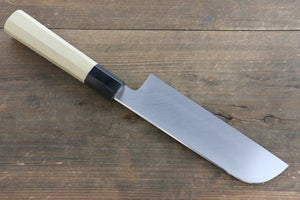 Kikumori VG10 Mirrored Finish Kamagata Usuba Japanese Chef Knife 180mm