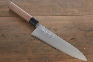 Shigeki Tanaka Silver Steel No.3 Nashiji Finish Gyuto Japanese Chef Knife 210mm