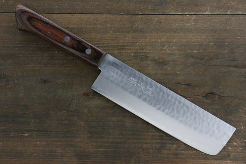 Kunihira VG1 Hammered Usuba Japanese Chef Knife 165mm - Japanny - Best Japanese Knife