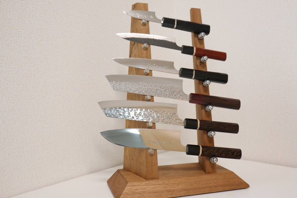 Knife tower rack for 6 knives