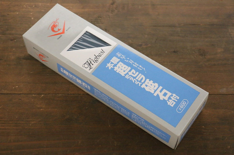 Naniwa Ceramic Coarser Sharpening Stone with Plastic Base- #600 - Japanny - Best Japanese Knife