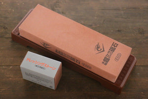 Naniwa Ceramic Medium Sharpening Stone with Plastic Base- #800