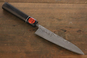 Shigeki Tanaka R2 Black Damascus Petty Japanese Chef Knife 150mm