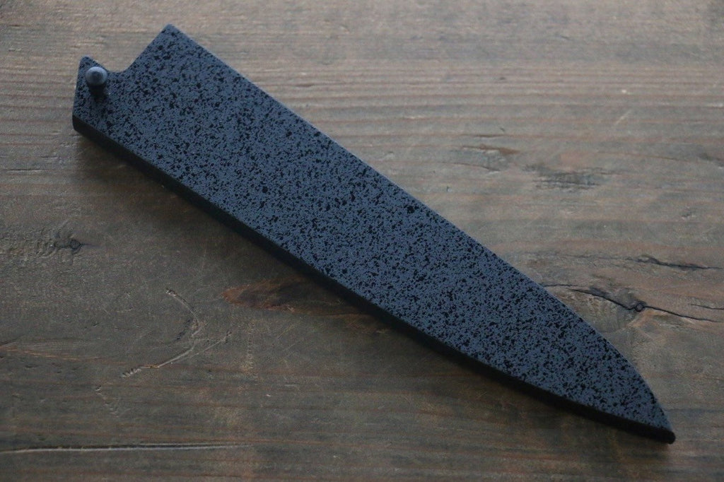 Kuroishime Saya Sheath for Petty-Utility Knife with Ebony Pin-150mm