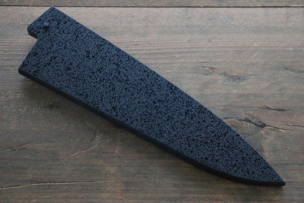 Kuroishime Saya Sheath for Gyuto Chef's Knife with Ebony Pin-180mm