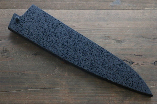 SandPattern Saya Sheath for Gyuto Chef's Knife with Plywood Pin-210mm - Japanny - Best Japanese Knife